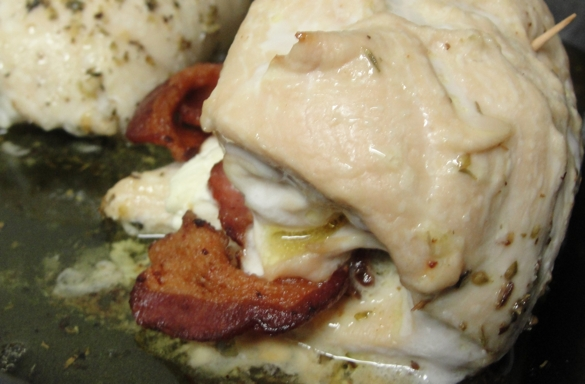 Feta Cheese and Bacon Stuffed Chicken Breasts – Mr. Baconpants