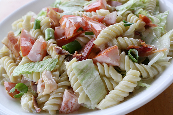 BLT Pasta Salad Recipe – Mr. Baconpants