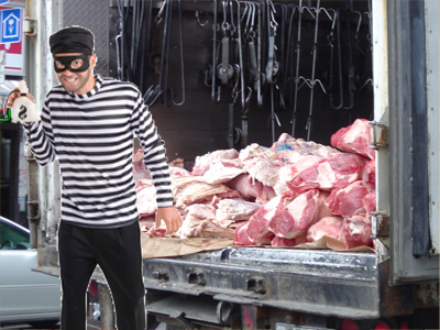 The Case of the Meat Delivery Burglar