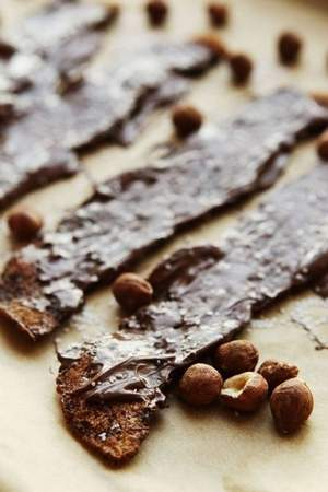 Sweet and Spicy Nutella-Coated Bacon